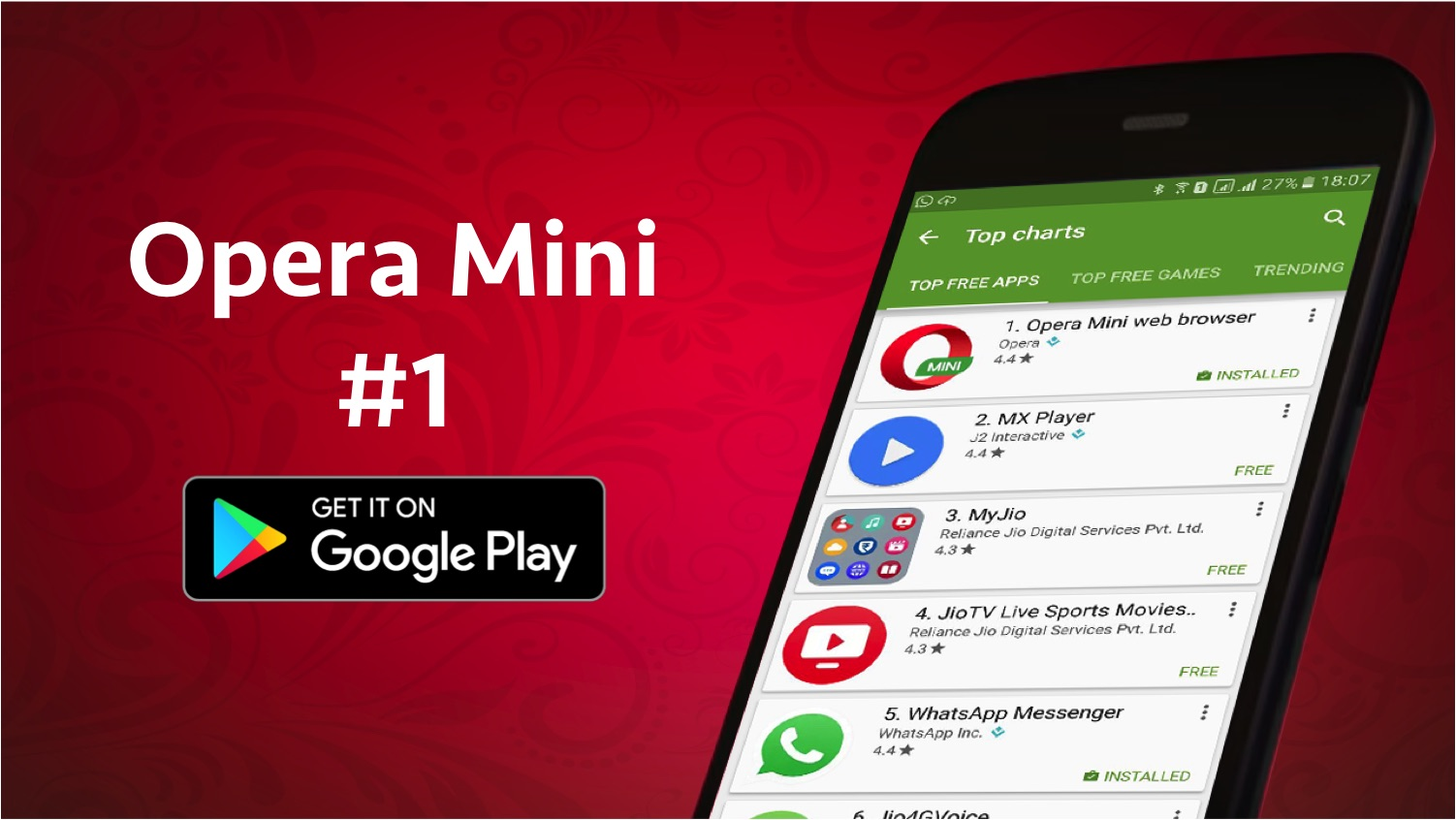 Opera mini is the most downloaded app in india ccuart Choice Image