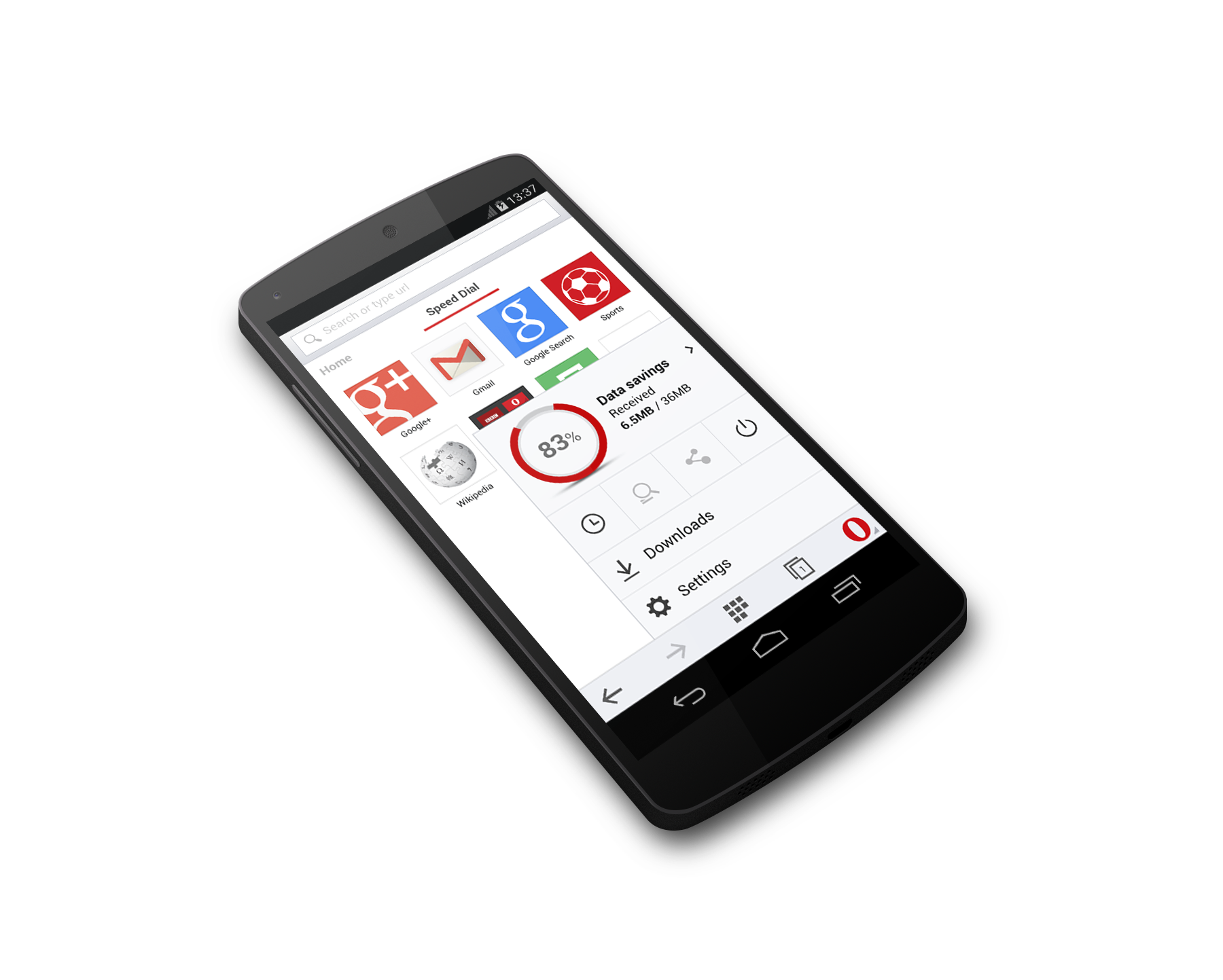 new android mobile opera mini for android beta runs on android 2 3 and higher 21569