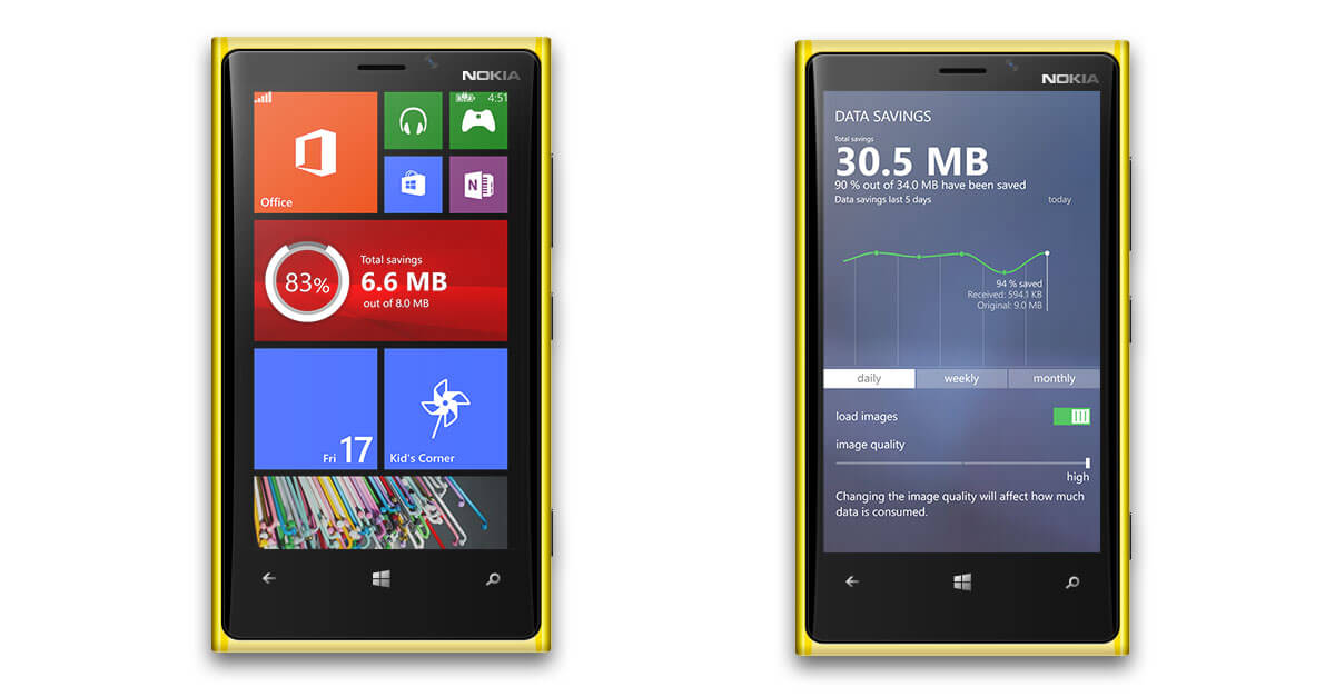 opera mini for windows phone 7