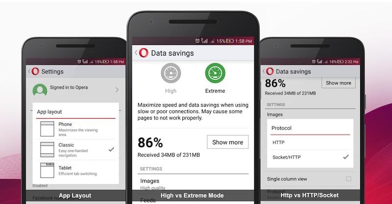 opera mini software  for phone