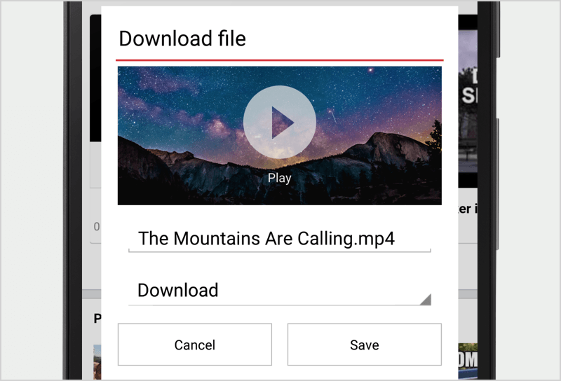 Video download video download in opera mini image of video download feature in opera mini for android ccuart Choice Image