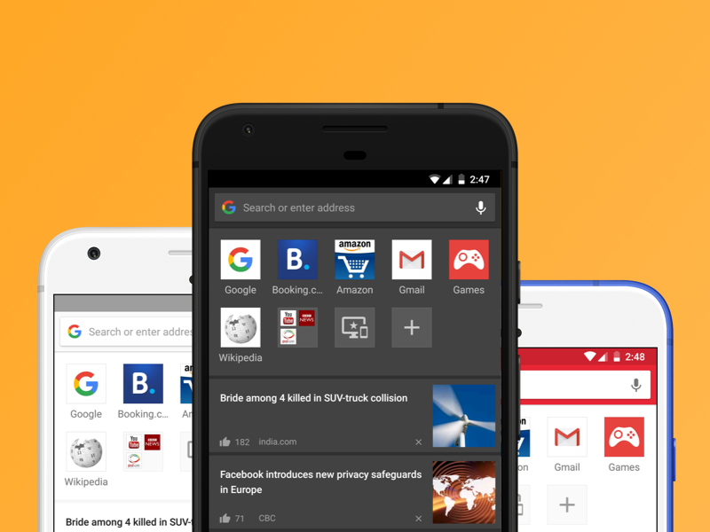 Opera for Android 46 comes with themes and night mode - Blog | Opera