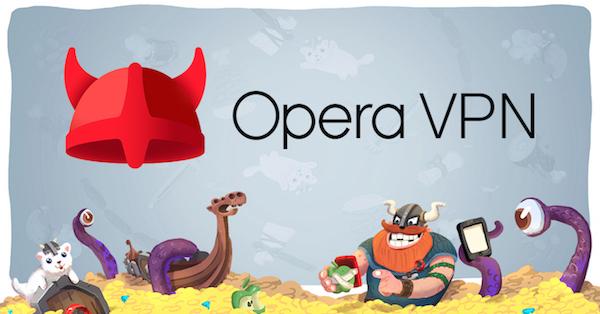 Bild: Die neue kostenlose Opera VPN App