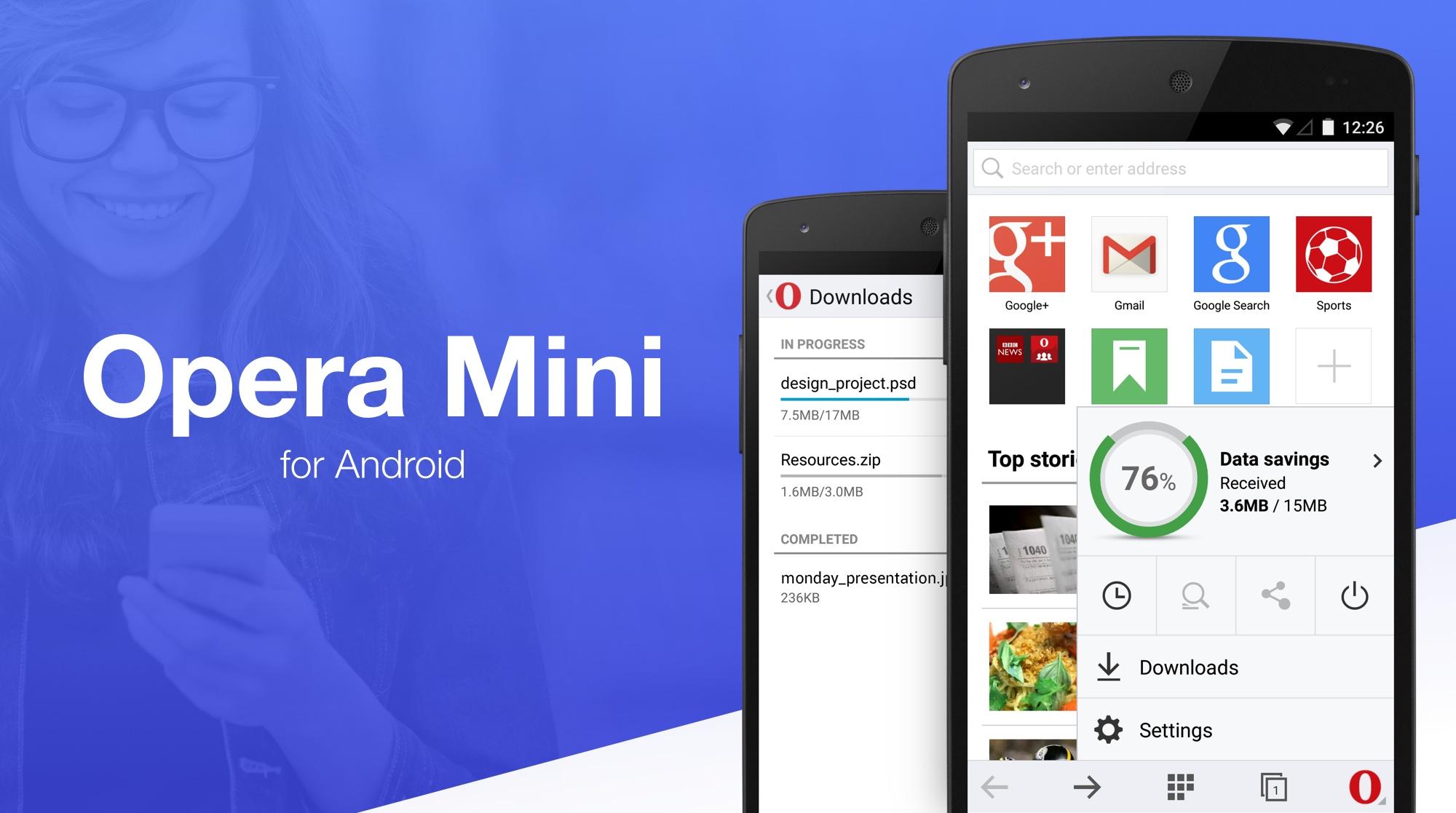 Скачать на андроид приложение опера