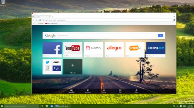 Новую оперу 2016 для windows 10