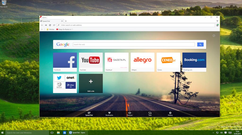 скачать программу опера последнюю версию бесплатно для windows 10
